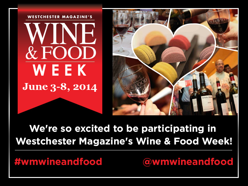 Westchester Magazine's Wine and Food Week (June 3-8) is almost here! Are you as excited as we are? You should be because Fogama is excited to be participating this year!!    100 top restaurants, 200 world-class wines, 22 elegant events, and 6 days of fantastic food and fun. Tickets are selling fast! Be sure to get one while you can  #wmwineandfoodweek
