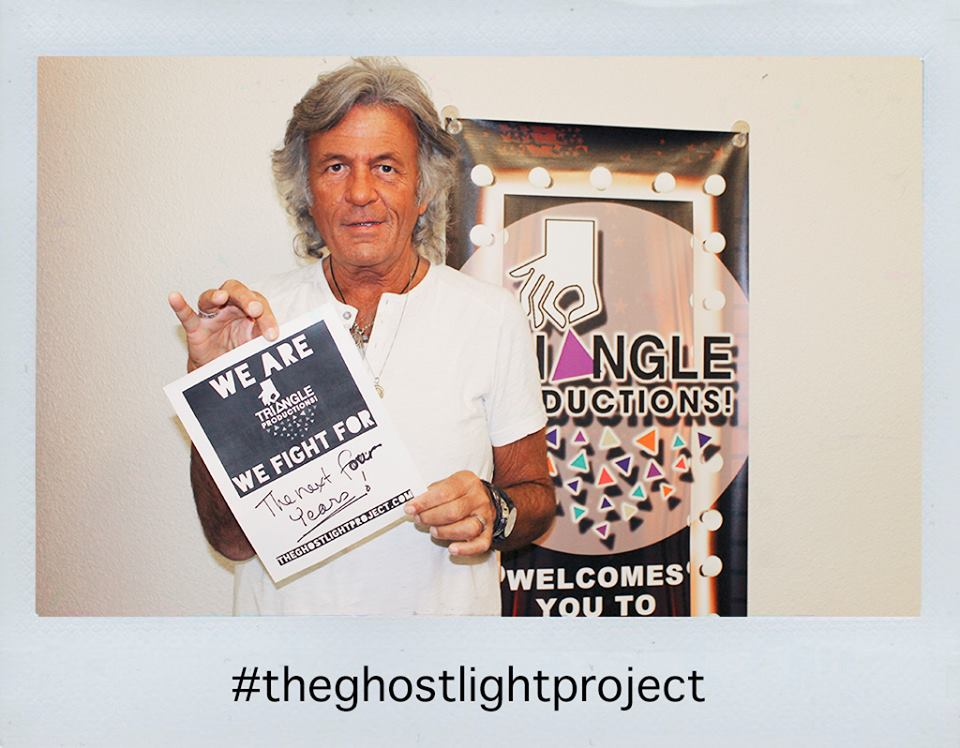 DON and triangle participates in the ghost light project - @theghostlightproject