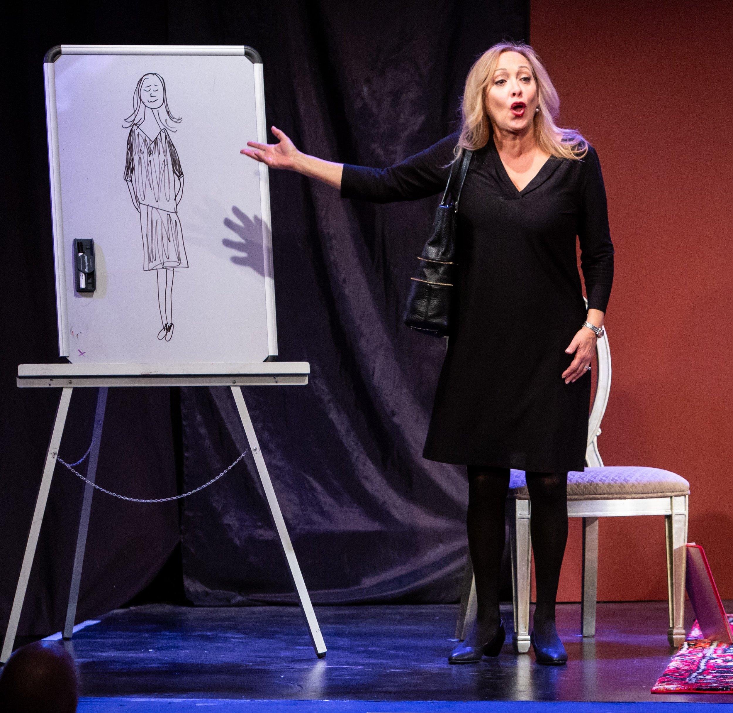 Michelle Maida - the drawing 2 Love Loss photo by David Kinder.jpg