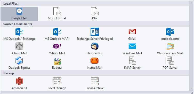 email sources
