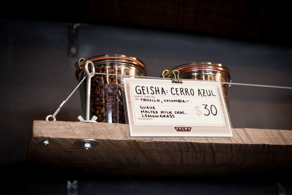 On the shelf: Cerro Azul Gesha
