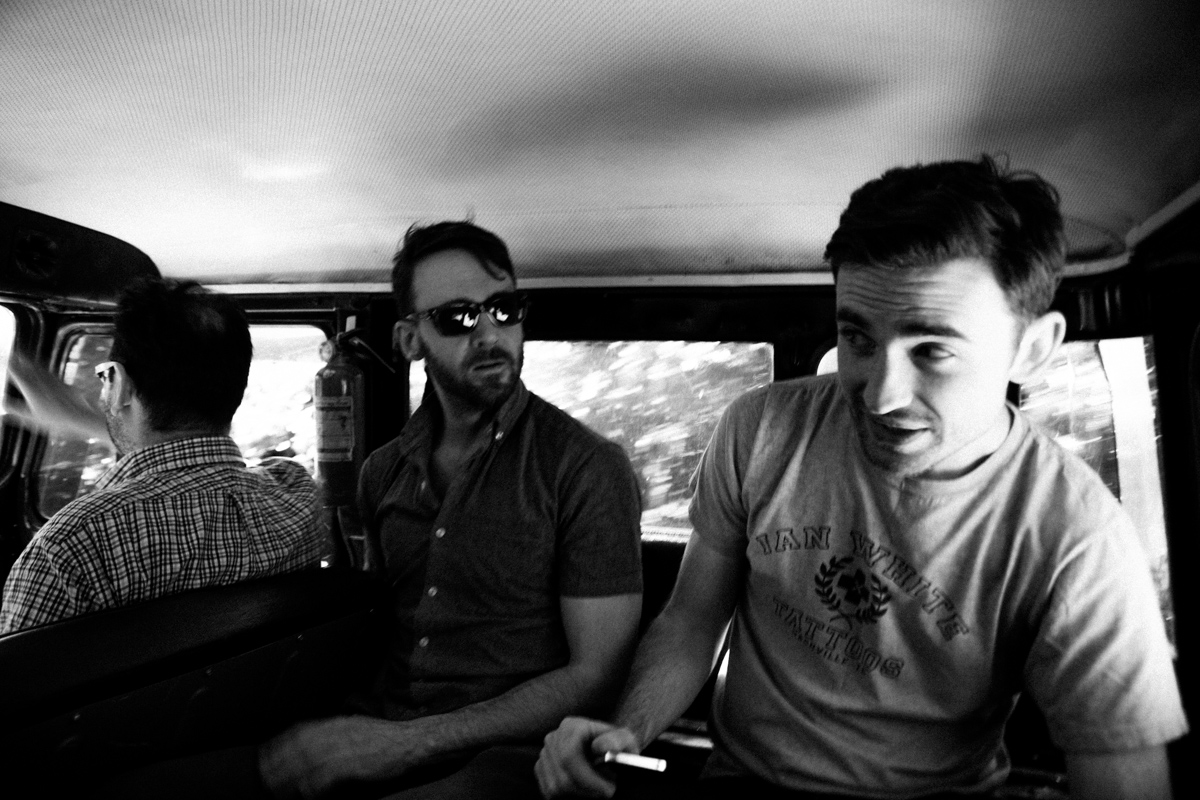 We bounce around in the back of the Land Cruiser which has been in Luis' family for three decades or more.