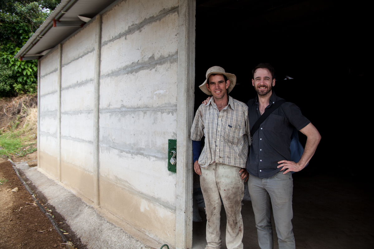 This farmer is new to speciality coffee, but not coffee. With the help of Exclusive Coffees in Costa Rica he is in his second year and producing some amazing coffees.