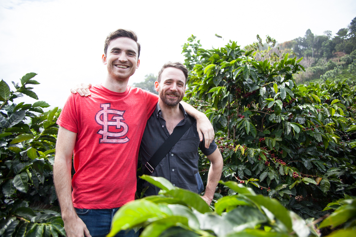 Sean and Winston, Coffee Roasters + Green Buyers, get all sentimental whilst walking an amazing farm in Tarrazu Costa Rica.