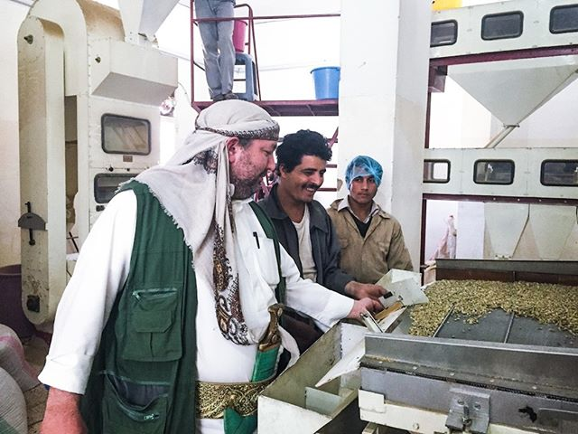 Q&A with Andrew Nicholson on 4/2 @7PM!  Our good friend Andrew of @rayyancoffee is stopping through town and we want you to meet him! Andrew has a huge heart for people, Yemen and good coffee and is responsible for exporting every delicious Yemeni coffee you've had at CREMA to this day. He's coming to Nashville to visit with us and raise awareness of Yemen coffee - come meet, mingle and take part in a Q&A with Andrew on Tuesday, April 2nd at 7pm. Open to the public!  📸: @dailycoffeenews