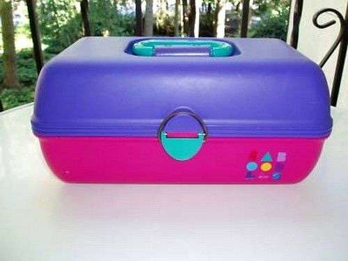 Every girl I knew had a Caboodle! I eventually got one for my birthday.