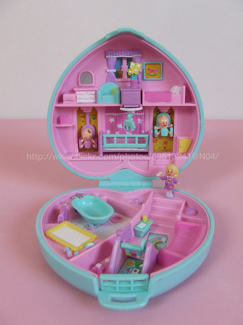Polly Pocket! The people who made toys in the 80/90s were genius!