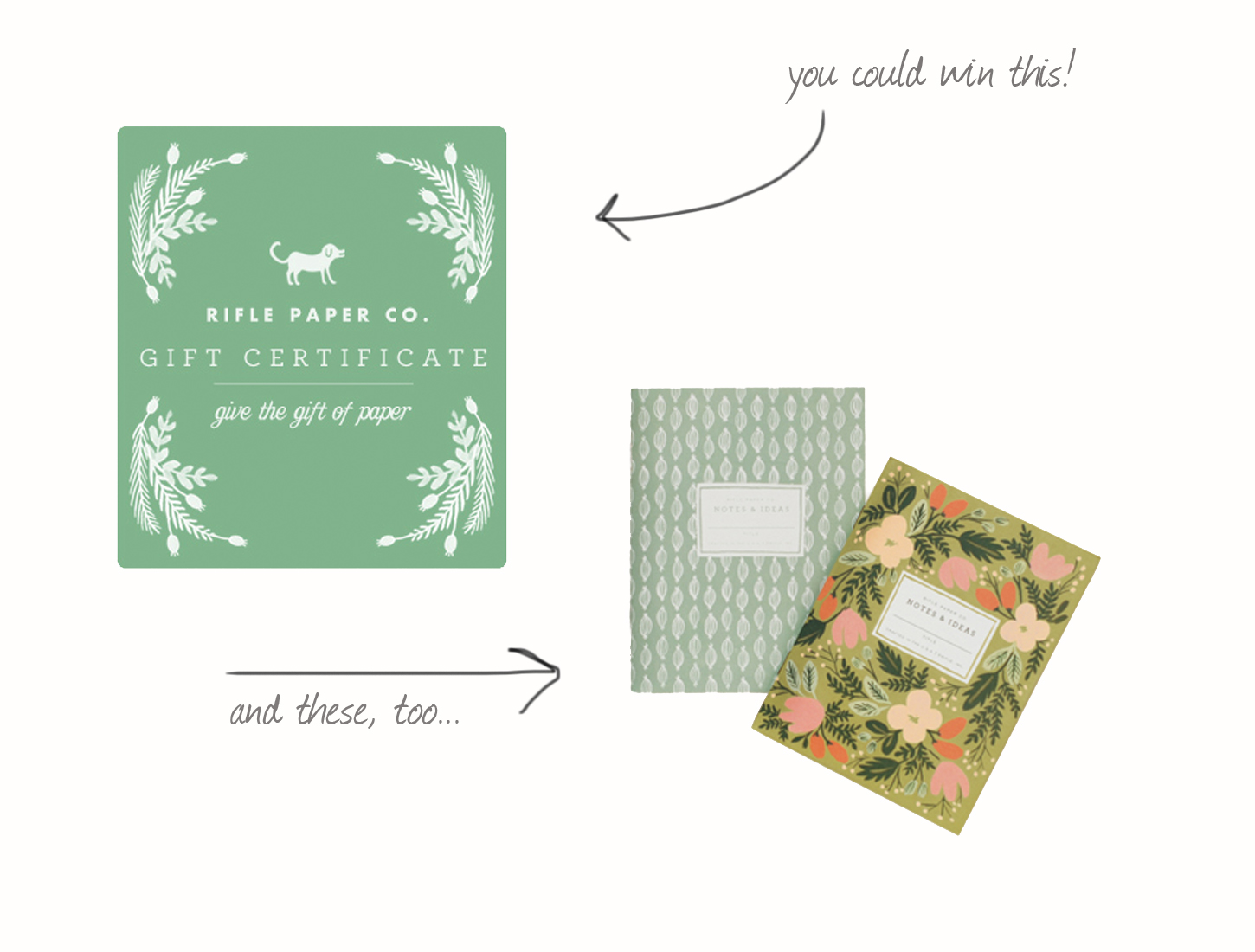 rifle and paper co giveaway