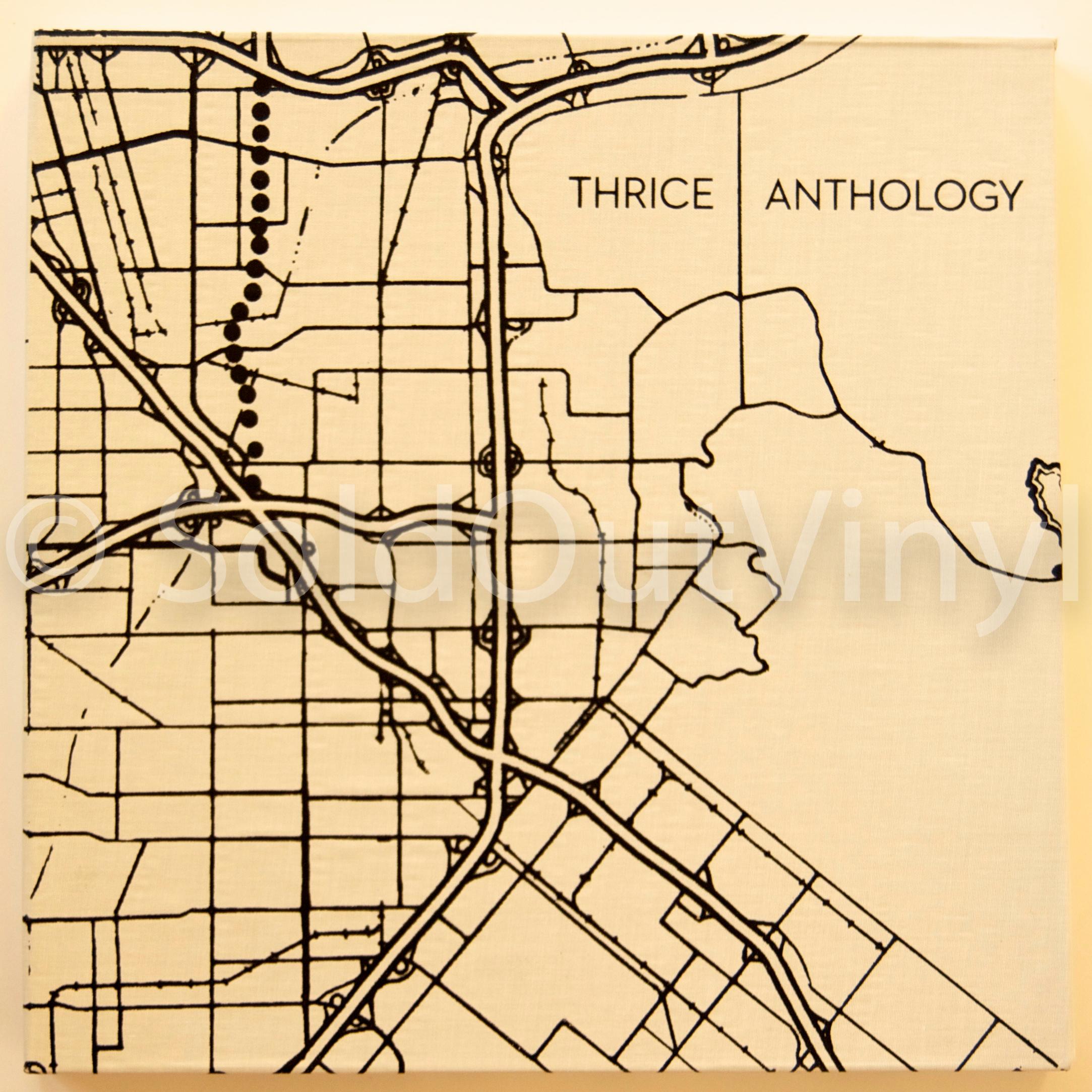 Thrice Anthology Live Vinyl 4xlp Set Boxset Soldoutvinyl