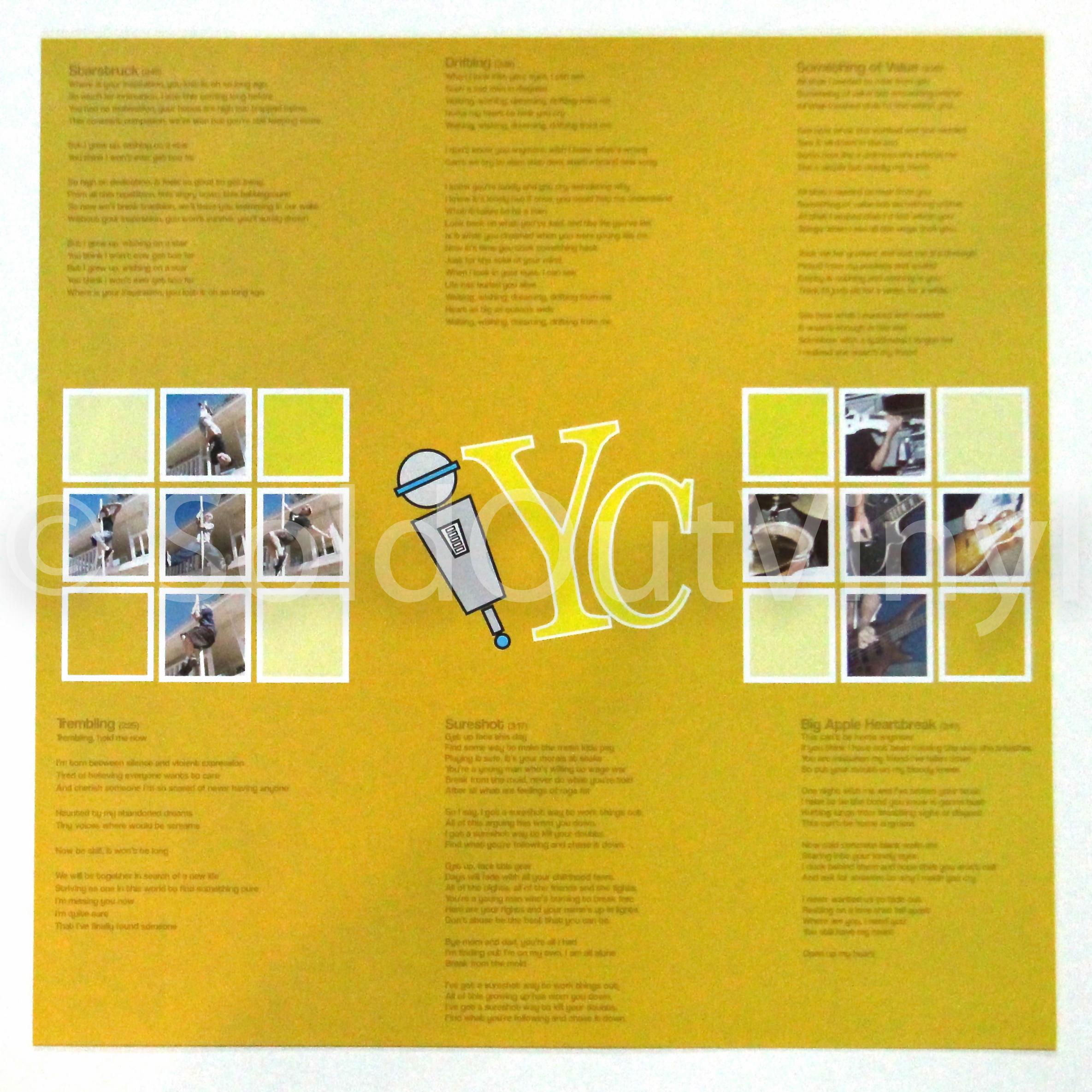 Yellowcard One For The Kids Vinyl Lp Rough Draft 7