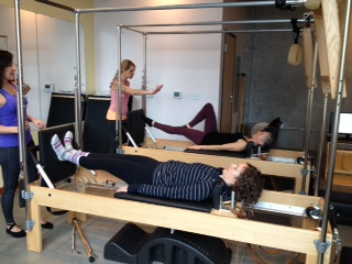 Did you know JSP is also a   Peak Pilates Education Center  ?  That means a nice savings for you if you are a generally healthy person and new to Pilates.  Apprentice teachers are working towards their certification, and teach private Pilates sessions for $20.  Level I certified instructors have completed the first level of three toward full certification, and teach private Pilates sessions for $40.   ** These sessions are for beginners with healthy bodies only