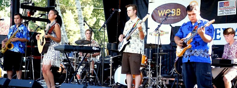 Northern Rockies Folk Festival - Hailey, ID  August 2012