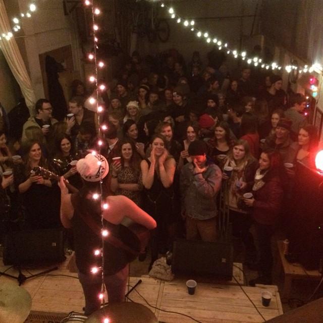 New Year's Eve Garage Show - Ketchum, ID  January 2015