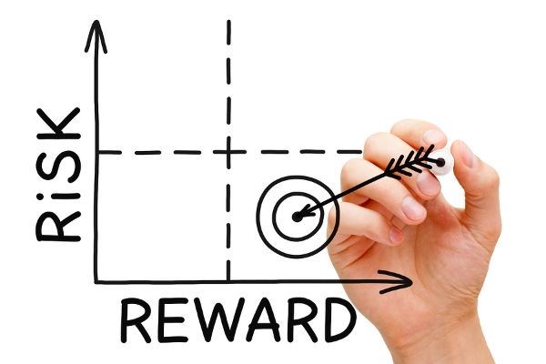 The brain avoids risk and seeks reward
