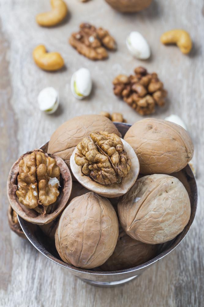 Walnuts are great brain food…