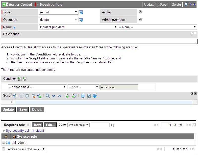 Incident Delete List Context Menu(Click to expand)