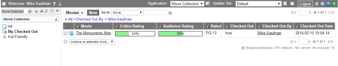 My Checked Out Movies