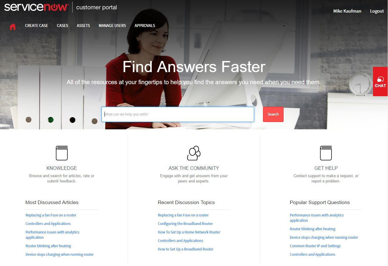 Customer Service Management — ServiceNow Elite