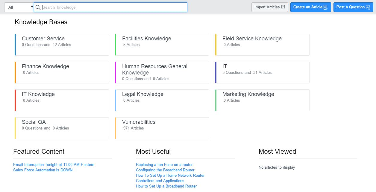 Knowledge Management Home Page