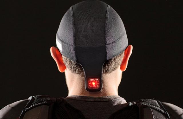 Reebok Checklight: Head Impact Sensor