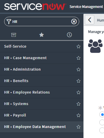 HR Applications