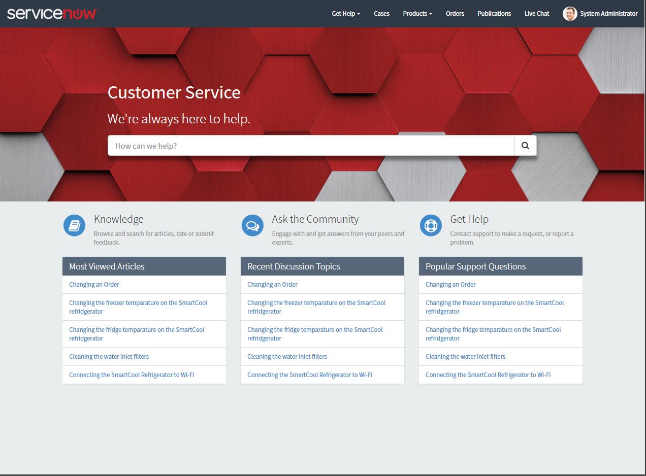 Consumer Service Portal