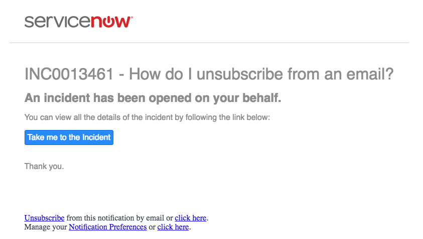 Example Email Unsubscribe Link