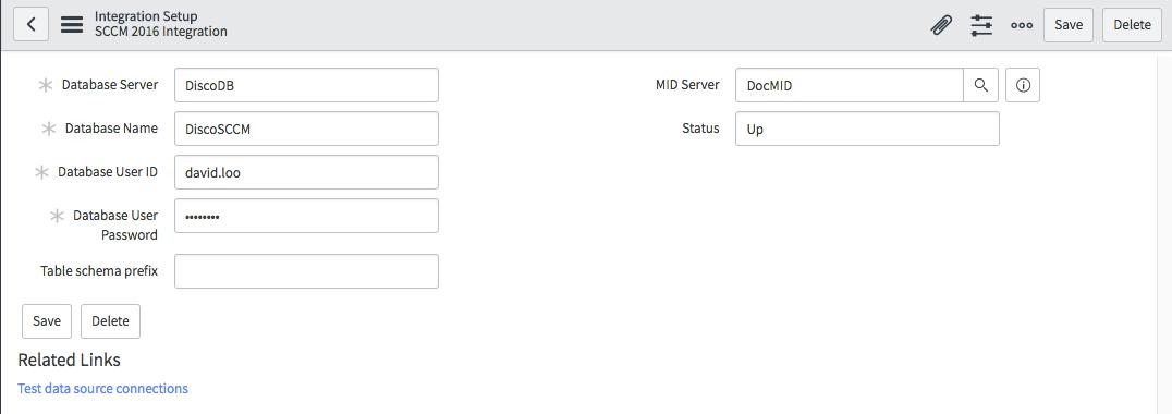 SCCM Data Import Setup