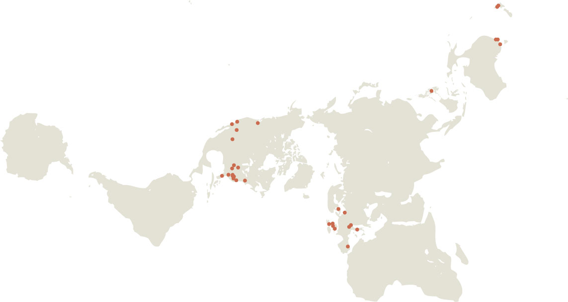a Dymaxion map of GM Taboada's Fully Qualified Instructors
