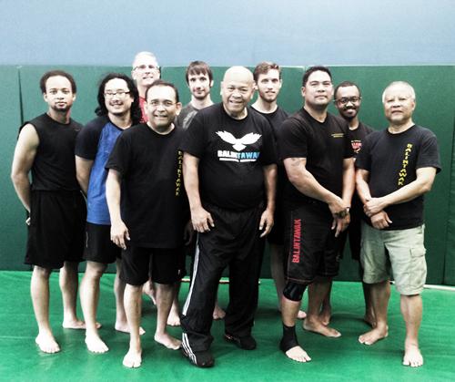 Grandmaster Bobby Taboada with participants of Saturday's Seminar.