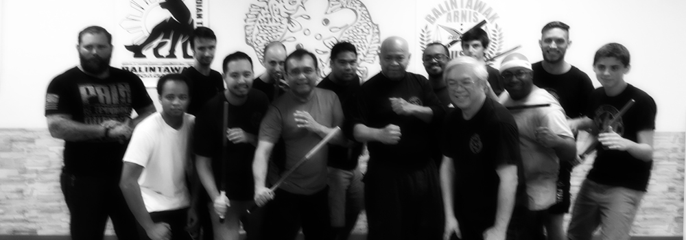Members of the Richmond and Atlanta branches of the Richmond Balintawak Crew with Grandmaster Taboada at World Camp 2015.