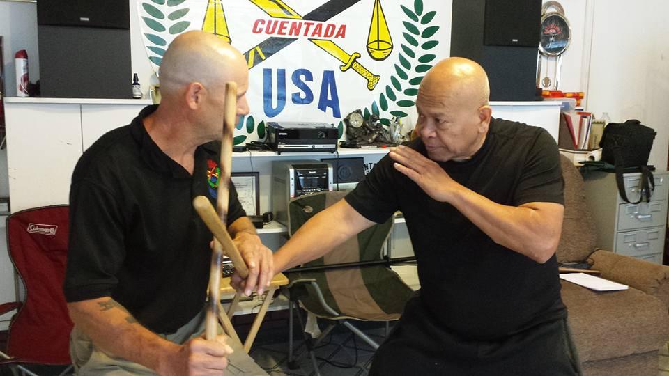 Guro Bob Sullen playing with Grandmaster Bobby Taboada