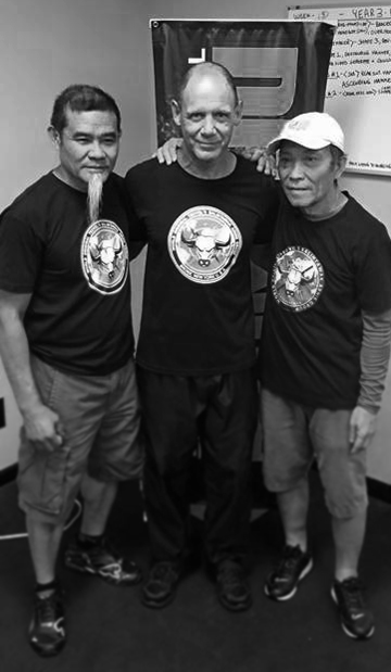 Chief Master Zac Taco (WOTBAG), Guro Bob Sullen, Chief Master Monie Velez (WOTBAG)