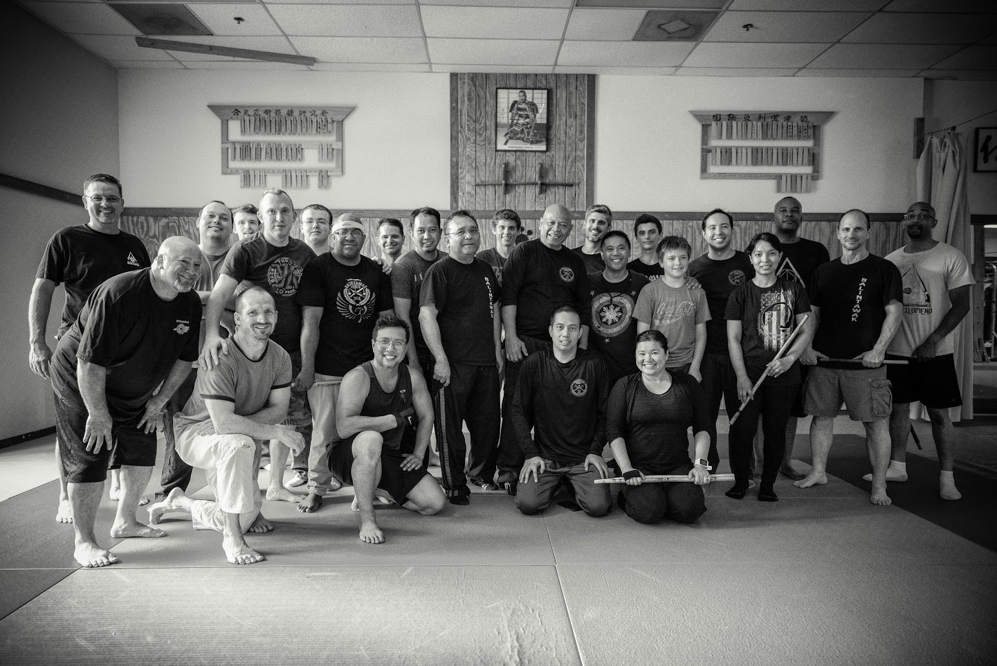 Participants of the Intensive Training Session with Grand Master Taboada in Atlanta. Photo courtesy of Micheal Smith.