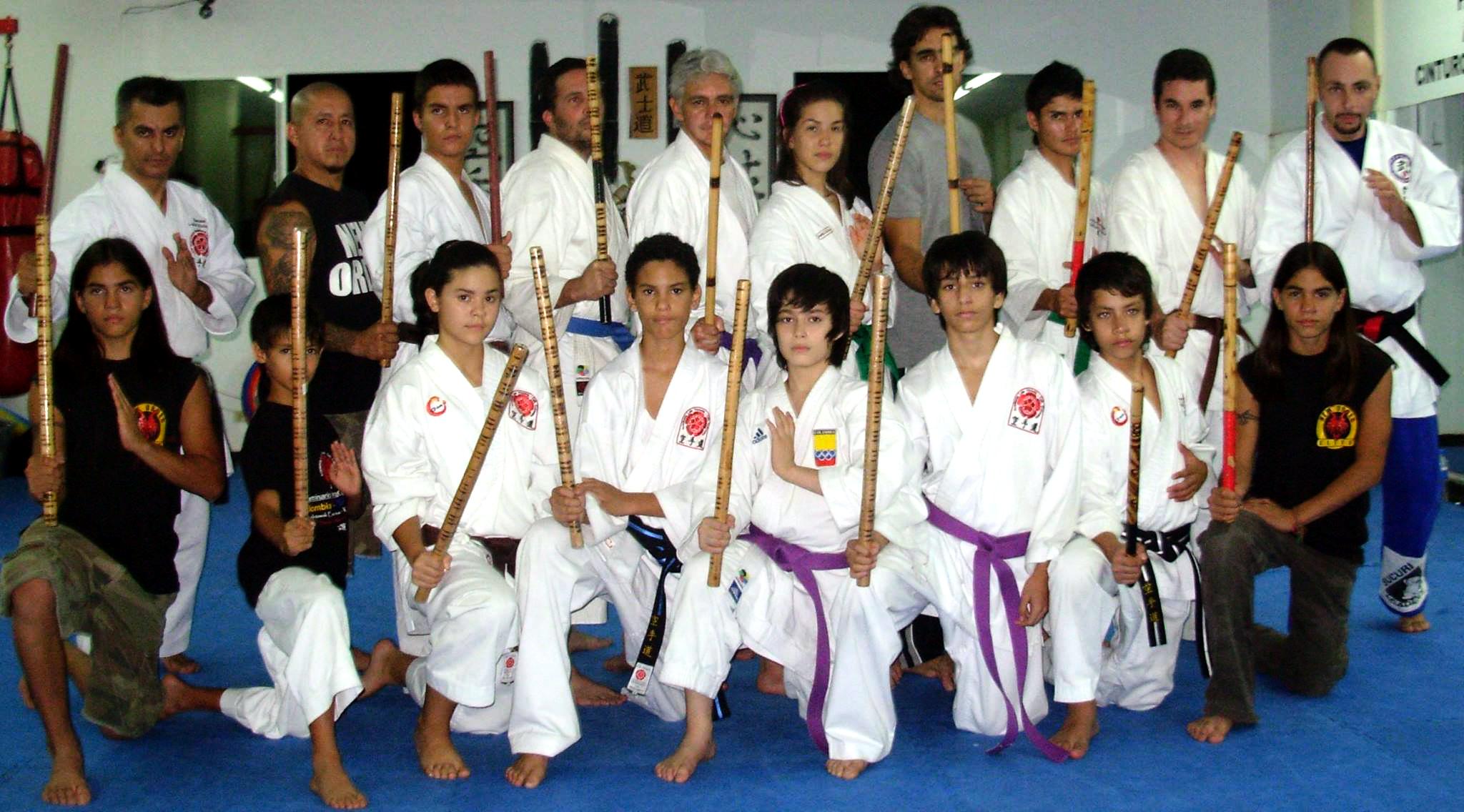 Guro Ormaza introduced Cuentada Balintawak to South America via a seminar in Cali, Columbia in 2009