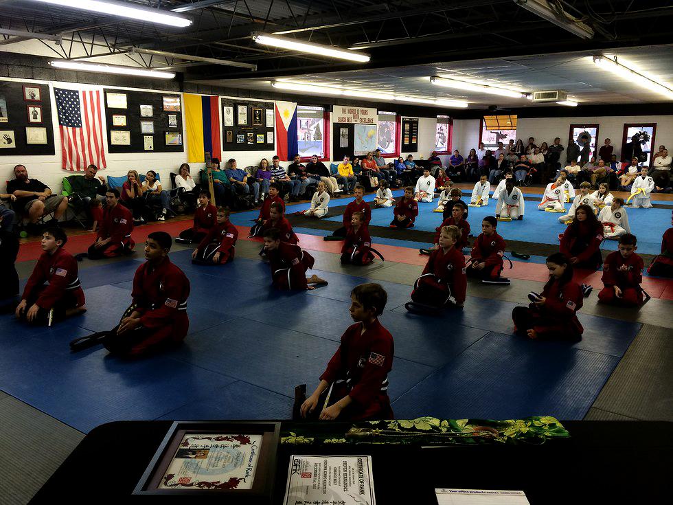 Ormaza Family Karate's original location in Dallas North Carolina