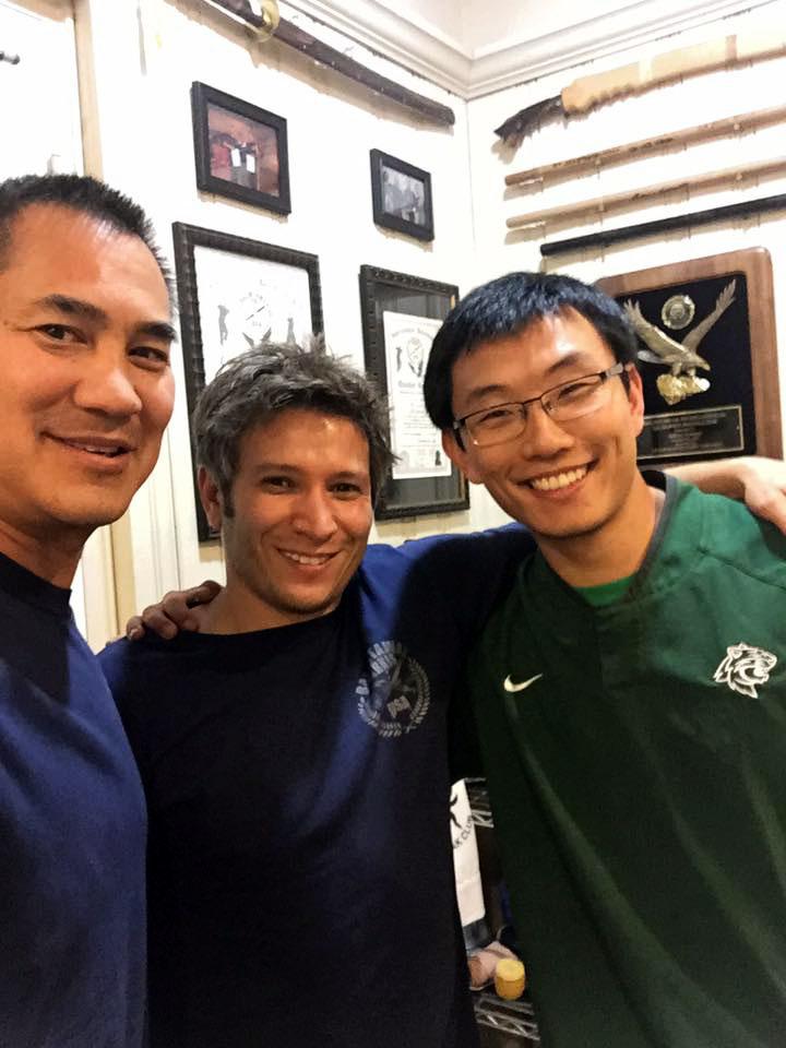 Guro Jeff Soriano, Guro Adam Greenspan, and all around awesome guy Frank Zhong.