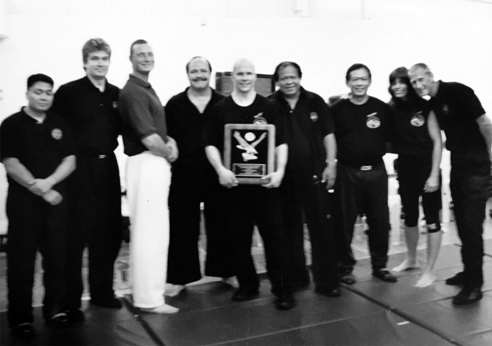 Pictured left to right, Raymond Asuncion, Frank Hesse, Louis Grady, Randy Cornell, patrick Schmitt, GM Bobby Taboada, GM Jorge Penafiel, Sharon LoParo, Eric Lawrence