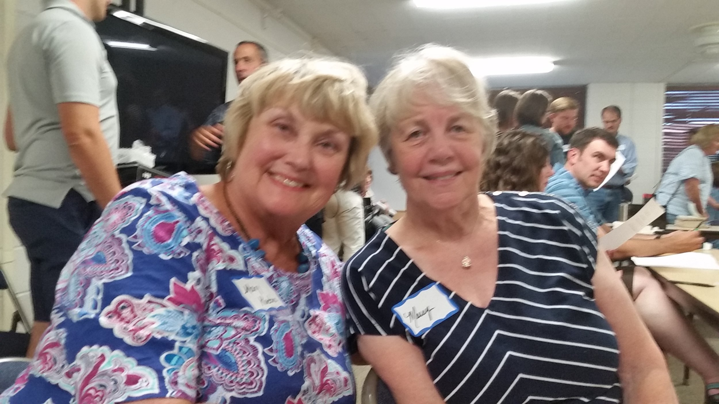 Mary Kuehn & Marcy Brown