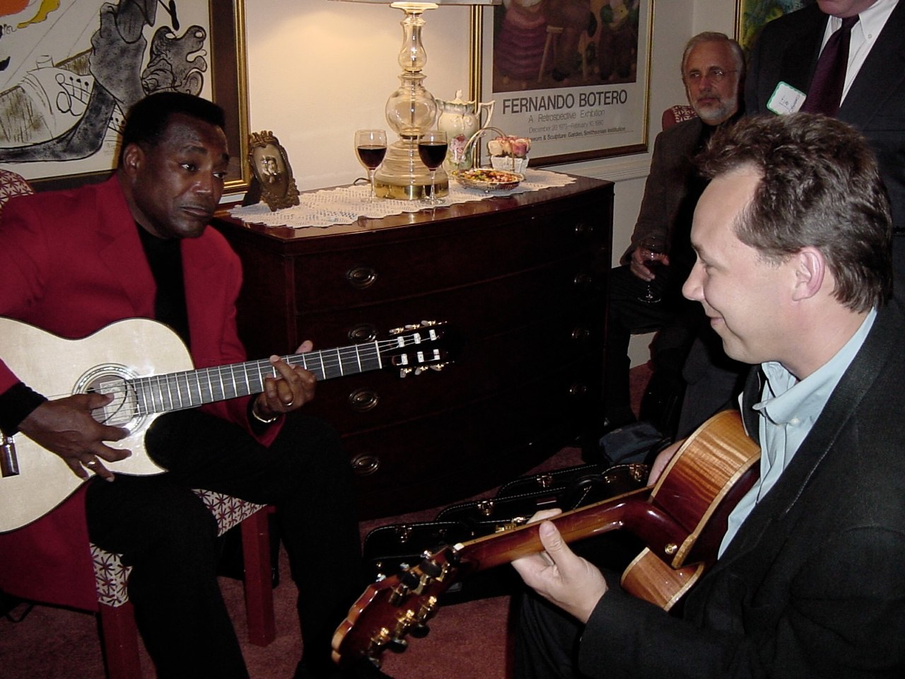 With George Benson