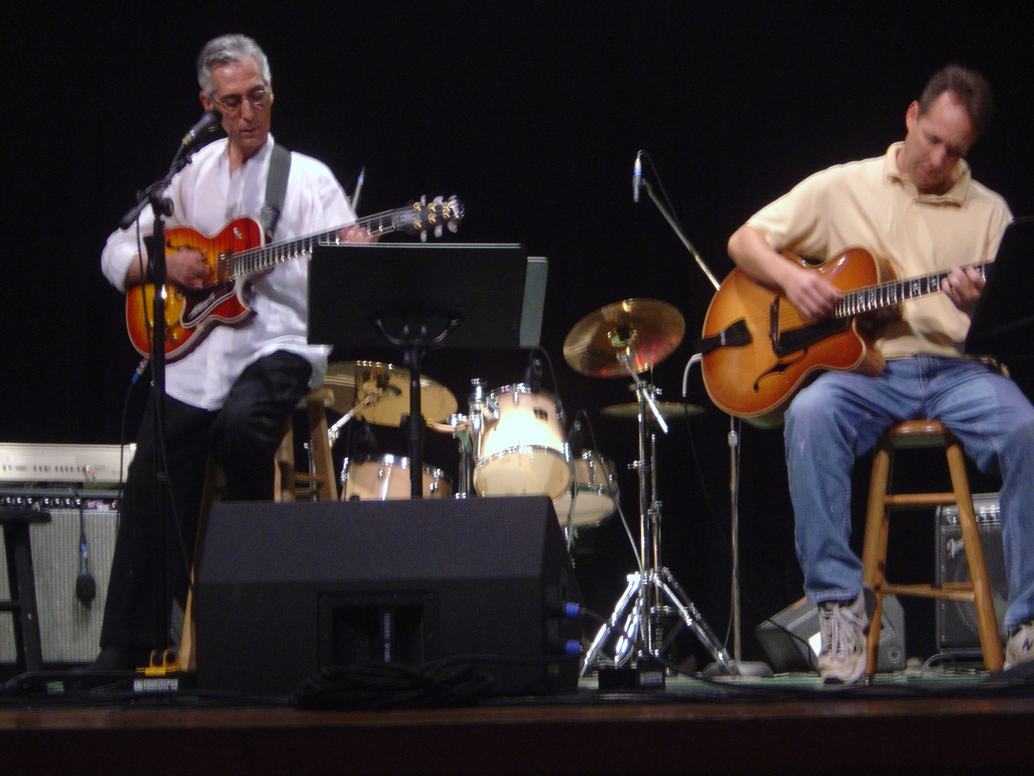 With Pat Martino