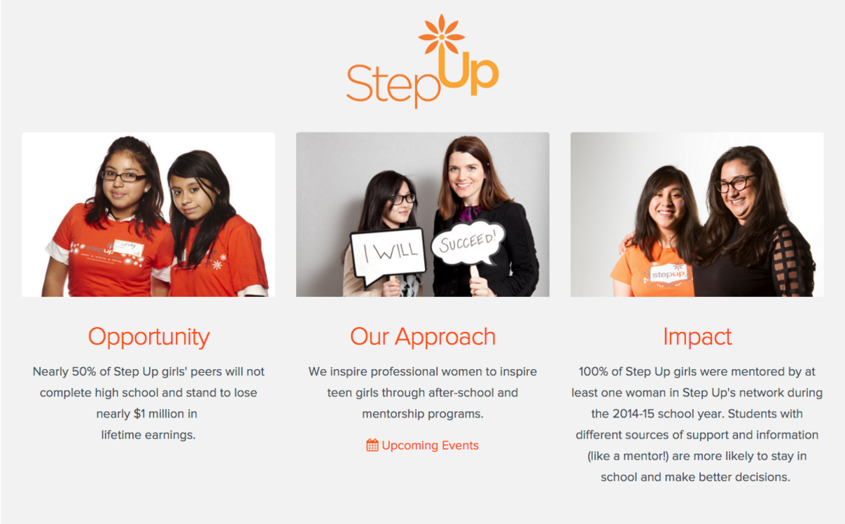 Step Up Charity Image