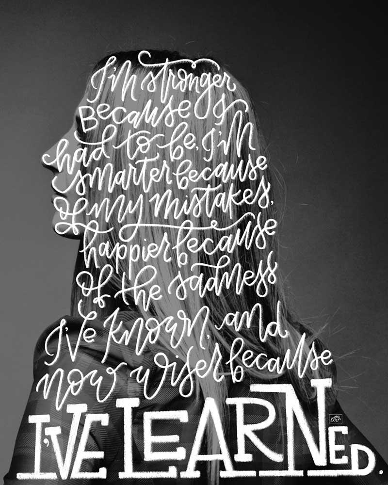 """""""I've Learned""""-  Image"""