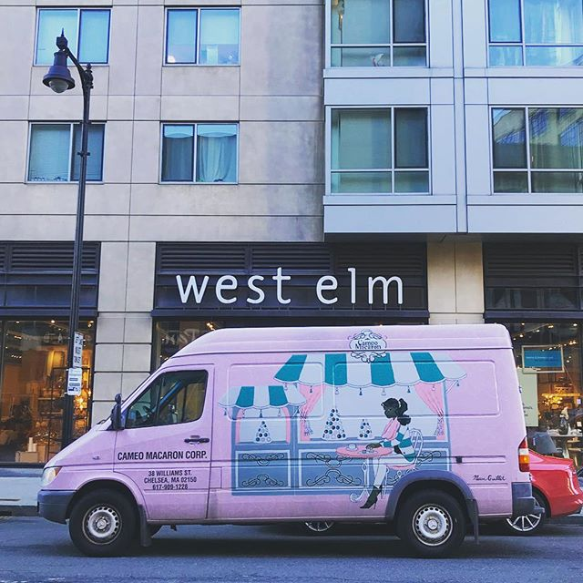 Come visit us inside @westelmfenway today from 10a - 2p! 160 Brookline Ave., Boston. . . . . #westelm #valentinesday #macarons #frenchmacaron #bostonfoodtrucks #wedding #bostonweddings #bridalshower #bridesmaids #catering #newenglandweddings #babyshower #momtobe #bostonevents #eventplanning #corporateevents #eventplanner