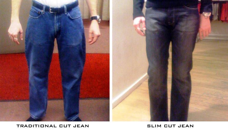 Slim cut vs. regular fit