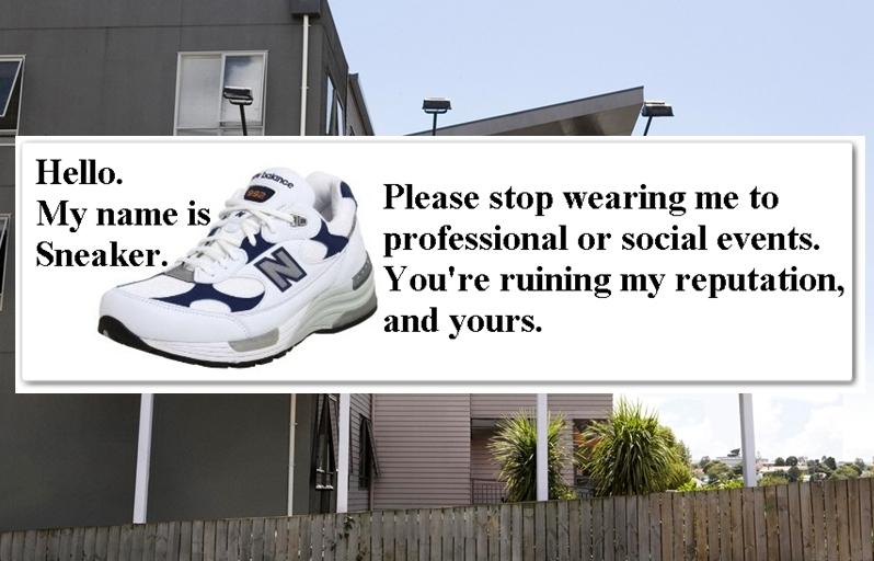 My name is sneaker