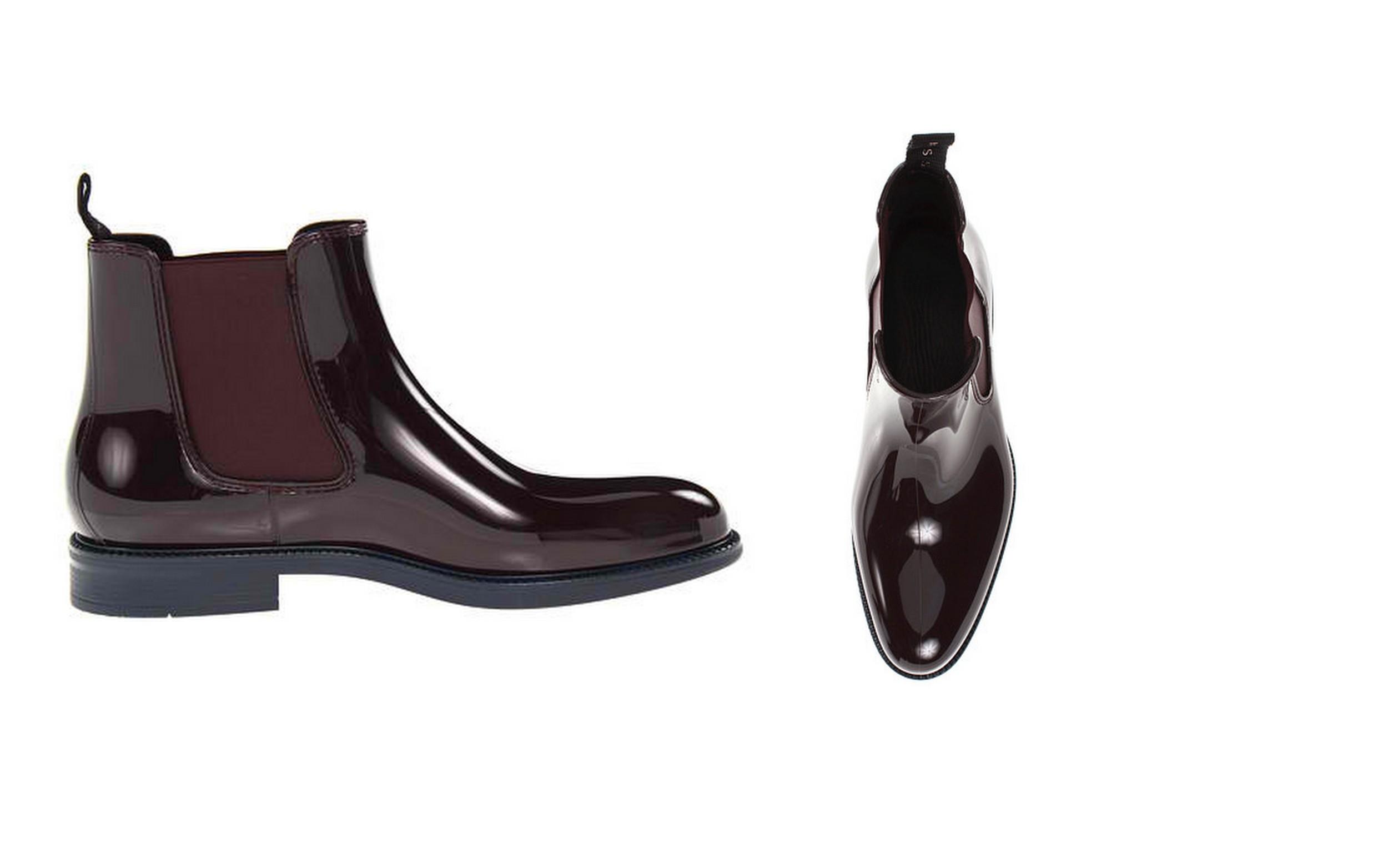Waterproof dress shoes for men