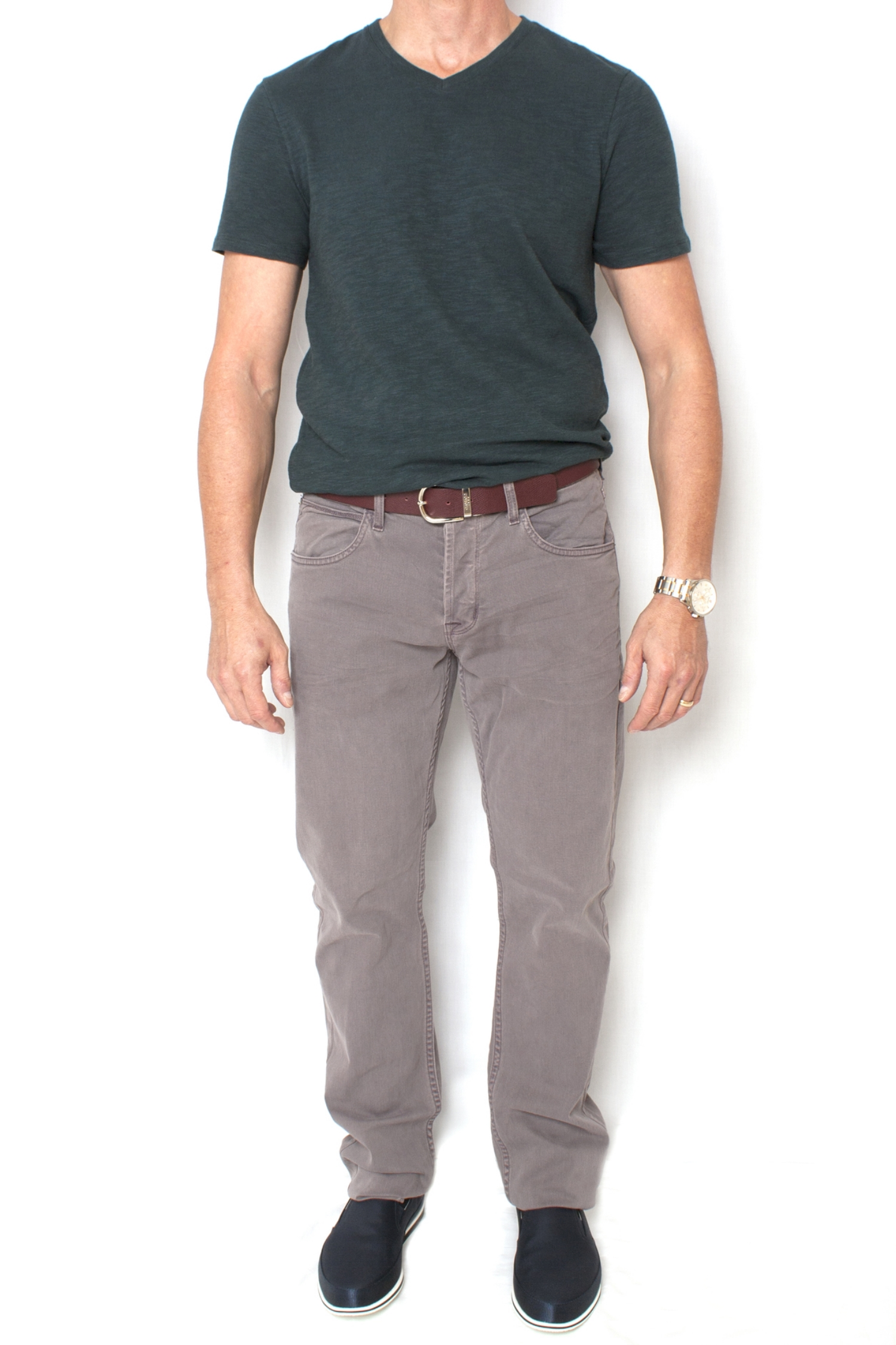 Tech CasuaL - More so than in any other business casual flavor, comfort and utility rule the domain of tech casual. The range here includes all types of denim with untucked button-downs or T-shirts, and on the dressier end are chinos and any shirt with a collar.Once you identify which business casual flavor you're going with, the next step is to personalize it to truly feel like you, and capture your individual style and image. I'll show you how to do just that in an upcoming post. In the mean time, you can check out The Business Casual Survival Guide: 30 Looks for Men, it's the only guide you'll ever need to take control of your style for work and weekend.