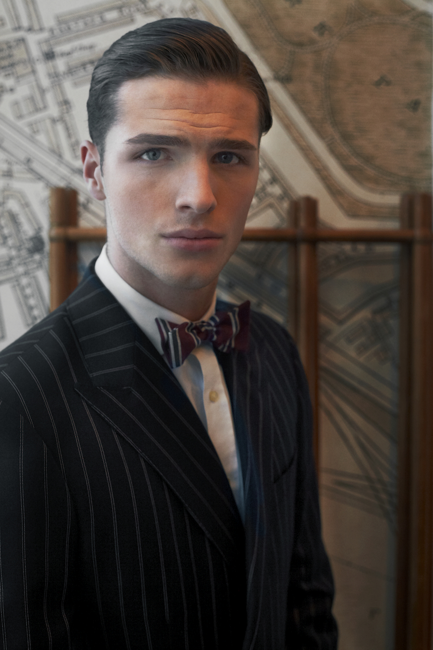 Edward Wilding (Fashion, Milan) in HACKETT LONDON