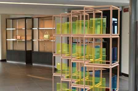 Vetrina, design Ron Gilad, by MOLTENI&C (presented at SALVATORE FERRAGAMO)